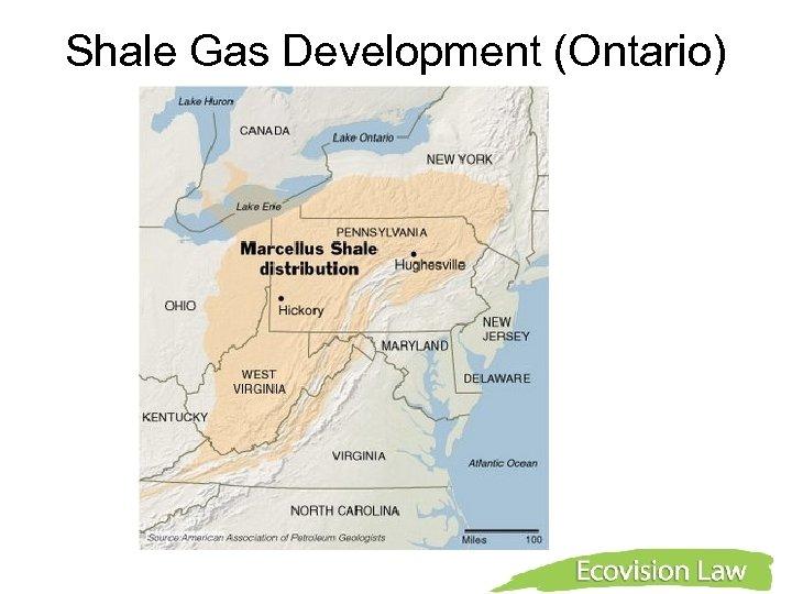 Shale Gas Development (Ontario)