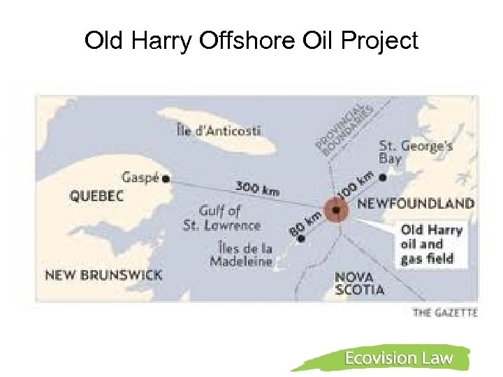 Old Harry Offshore Oil Project