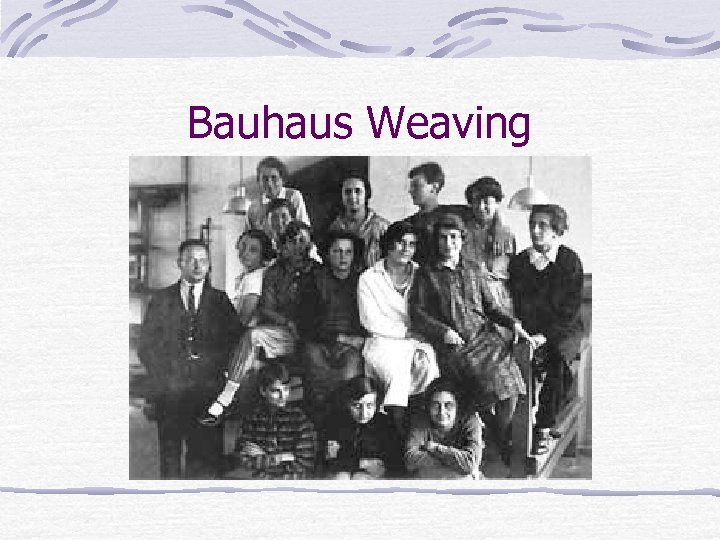 Bauhaus Weaving