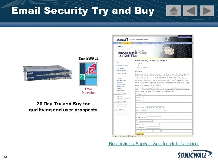 Email Security Try and Buy 30 Day Try and Buy for qualifying end user
