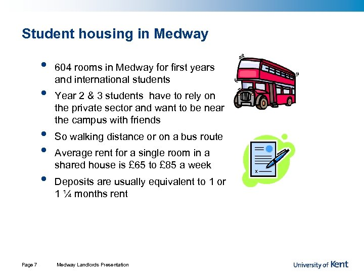 Student housing in Medway • • • Page 7 604 rooms in Medway for