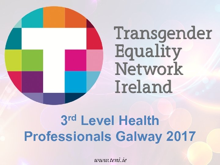 rd 3 Level Health Professionals Galway 2017