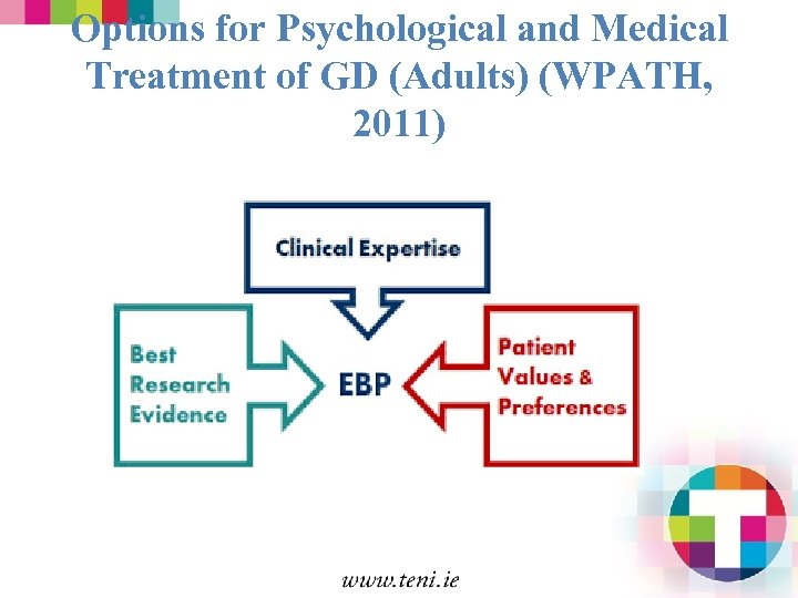 Options for Psychological and Medical Treatment of GD (Adults) (WPATH, 2011)