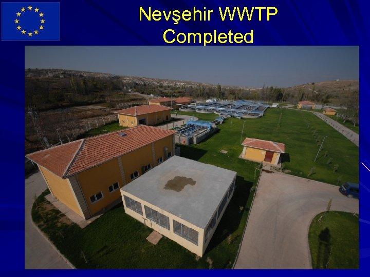 Nevşehir WWTP Completed
