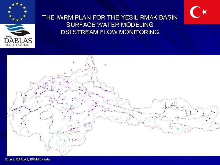 THE IWRM PLAN FOR THE YESILIRMAK BASIN SURFACE WATER MODELING DSI STREAM FLOW MONITORING