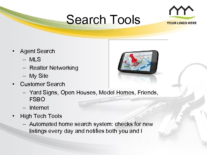 Search Tools • Agent Search – MLS – Realtor Networking – My Site •