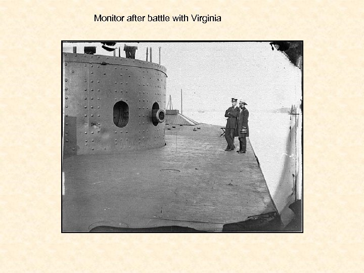 Monitor after battle with Virginia