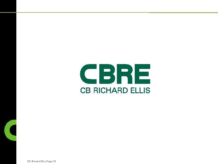 CB Richard Ellis   Page 32