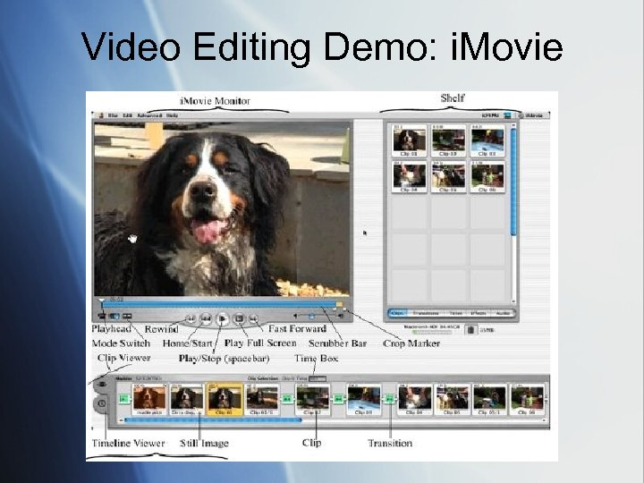 Video Editing Demo: i. Movie