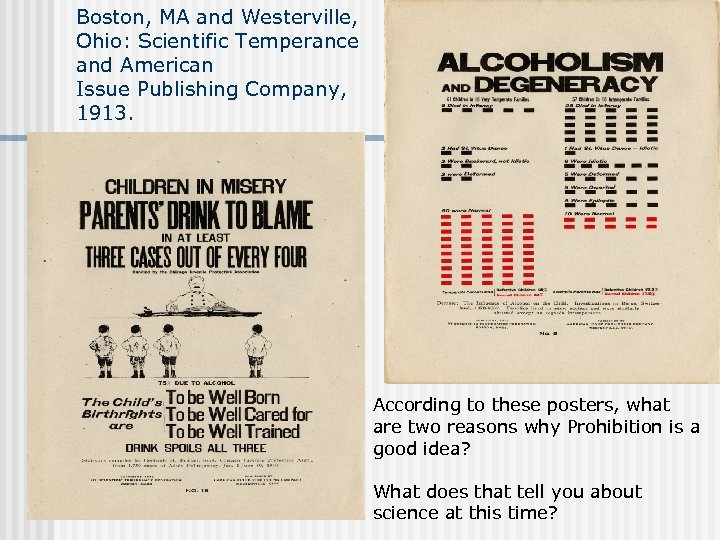 Boston, MA and Westerville, Ohio: Scientific Temperance and American Issue Publishing Company, 1913. According