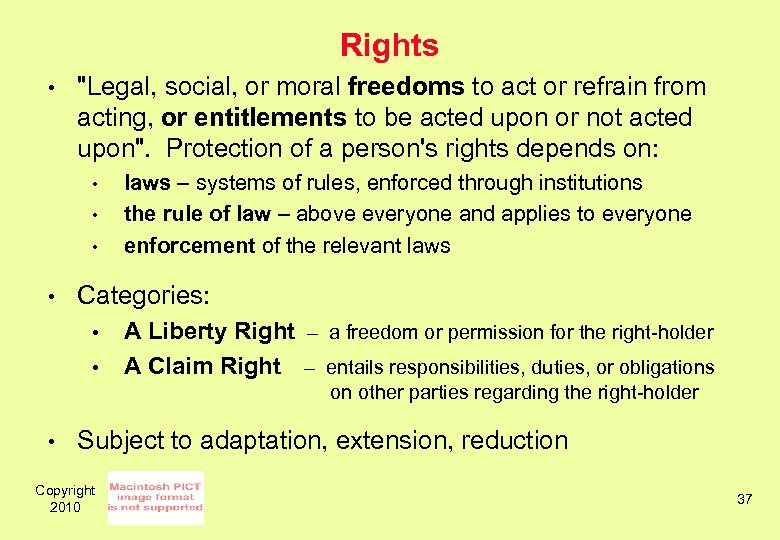 Rights •