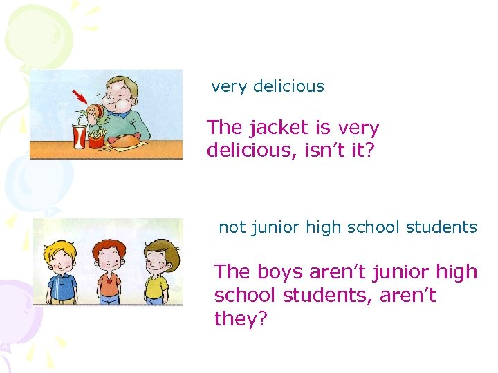 very delicious The jacket is very delicious, isn't it? not junior high school students