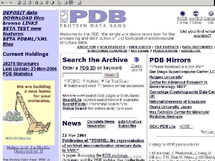 British Library, November 2004 29