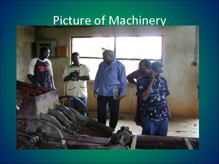 Picture of Machinery