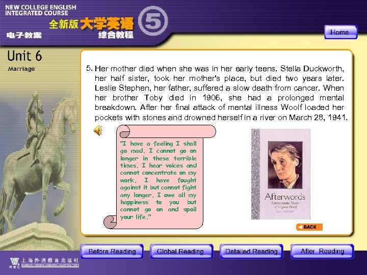 5. Her mother died when she was in her early teens. Stella Duckworth, her