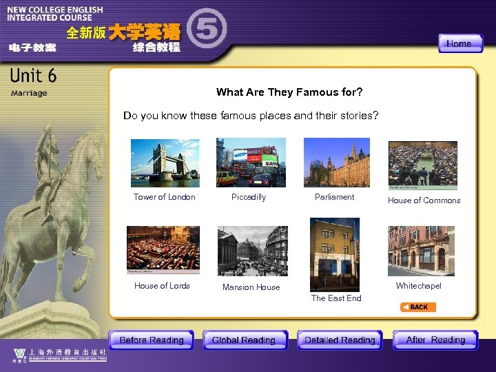 What Are They Famous for? Do you know these famous places and their stories?