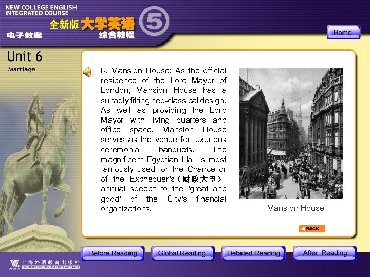 6. Mansion House: As the official residence of the Lord Mayor of London, Mansion