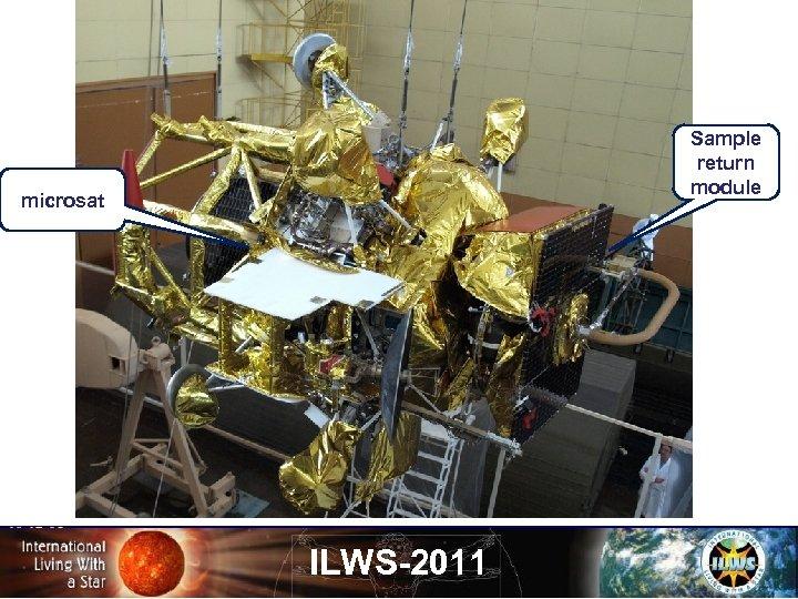 Sample return module microsat ILWS-2011