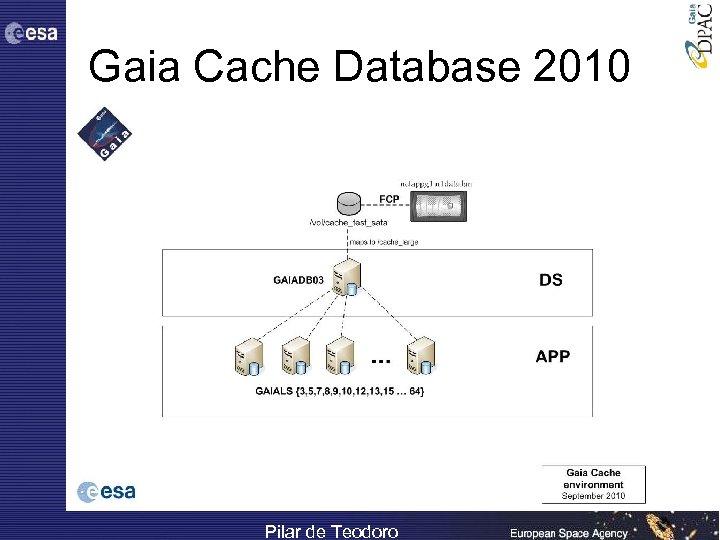 Gaia Cache Database 2010 Pilar de Teodoro