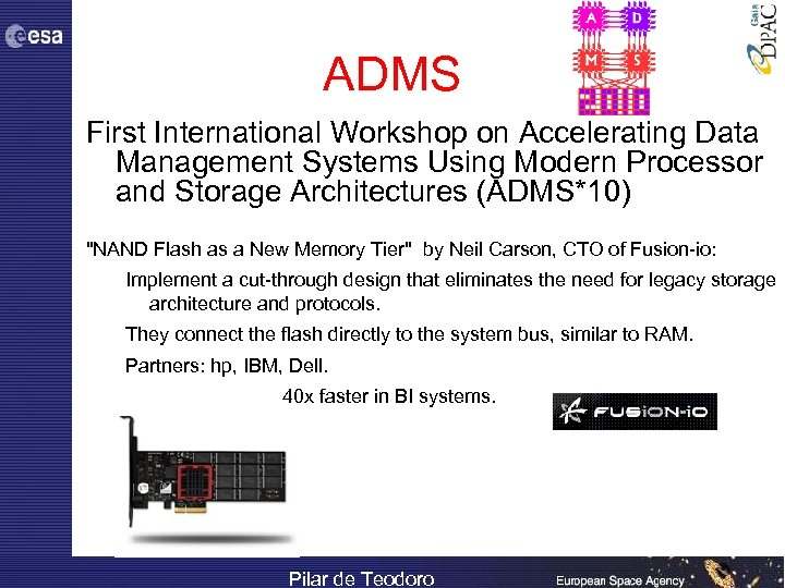 ADMS First International Workshop on Accelerating Data Management Systems Using Modern Processor and Storage