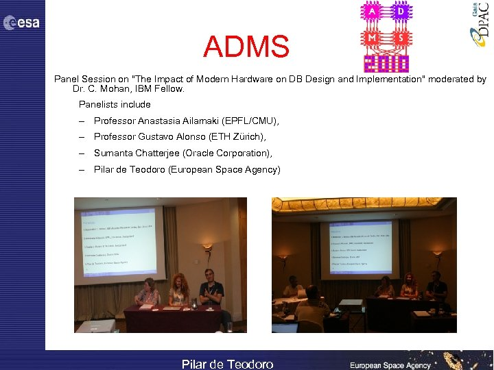 ADMS Panel Session on