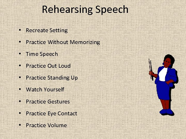 the standard of public speaking among Motivational public speaking requires a call to action what ever the motivational goal, there needs to be a call to action if you facilitated the the audience to tap into their inner motivations, then ask them one more time to just do it.
