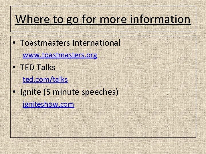 Public Speaking Among Many Fears