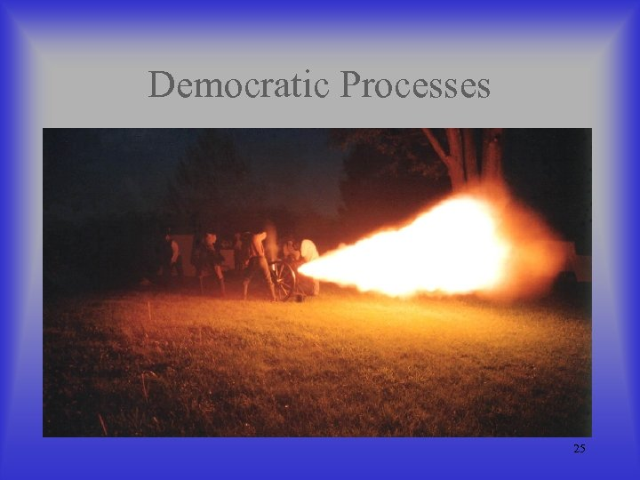 Democratic Processes 25
