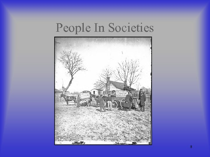 People In Societies 8