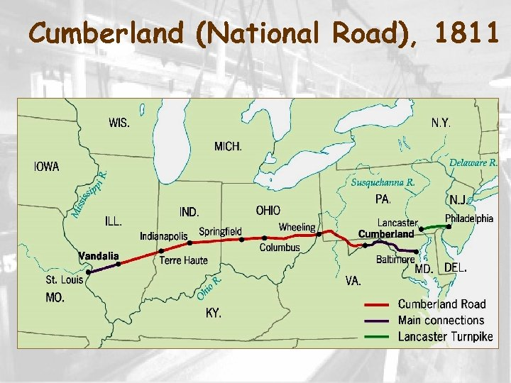 Cumberland (National Road), 1811