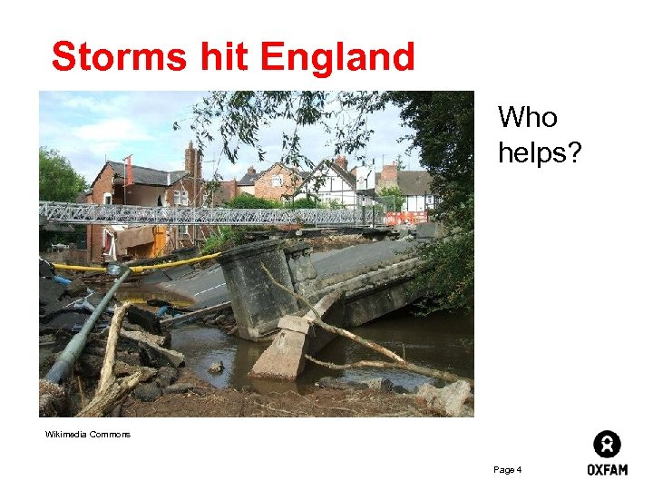 Storms hit England Who helps? Wikimedia Commons Page 4