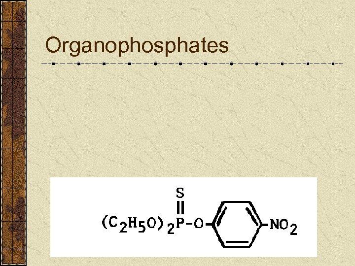 Organophosphates