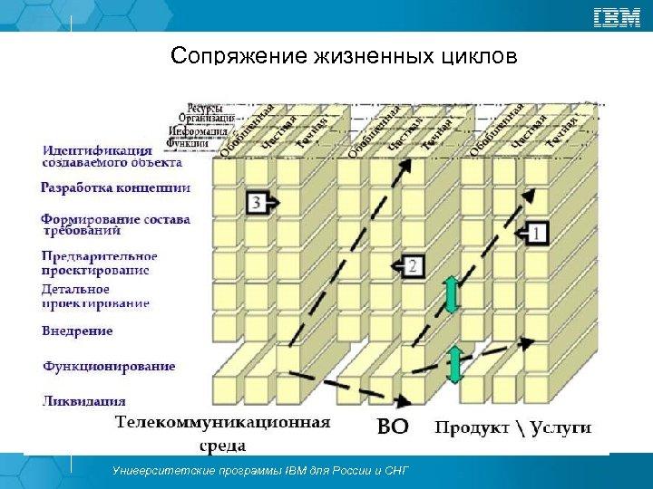 Сопряжение жизненных циклов Университетские программы IBM для России и СНГ