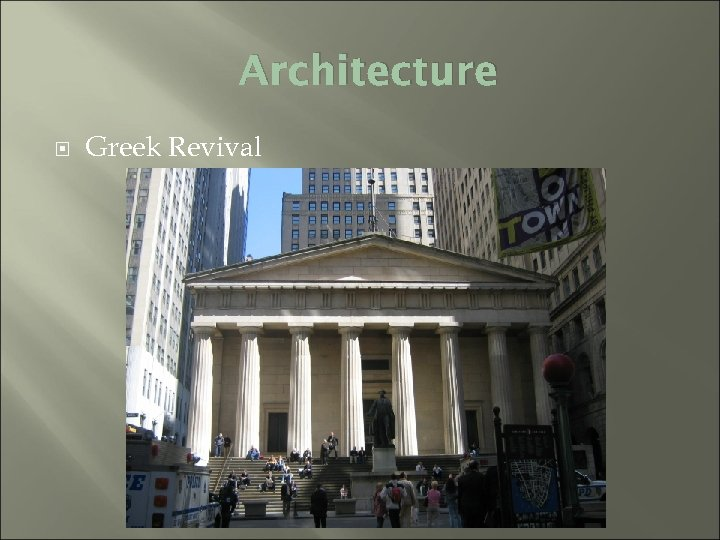 Architecture Greek Revival