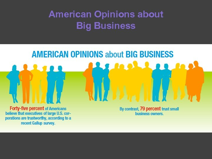 American Opinions about Big Business