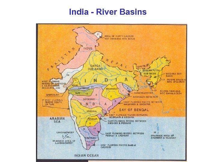 India - River Basins
