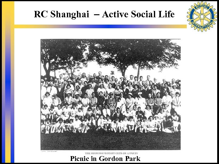 RC Shanghai – Active Social Life Picnic in Gordon Park