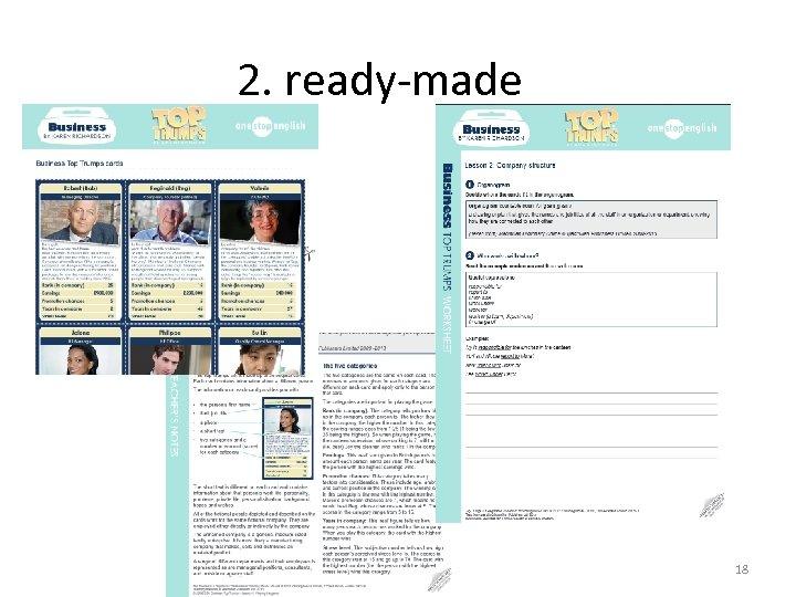 2. ready-made 18
