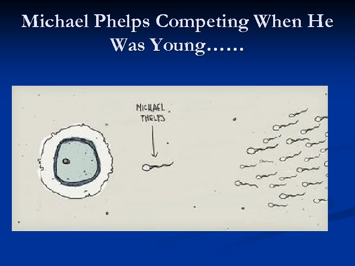 Michael Phelps Competing When He Was Young……