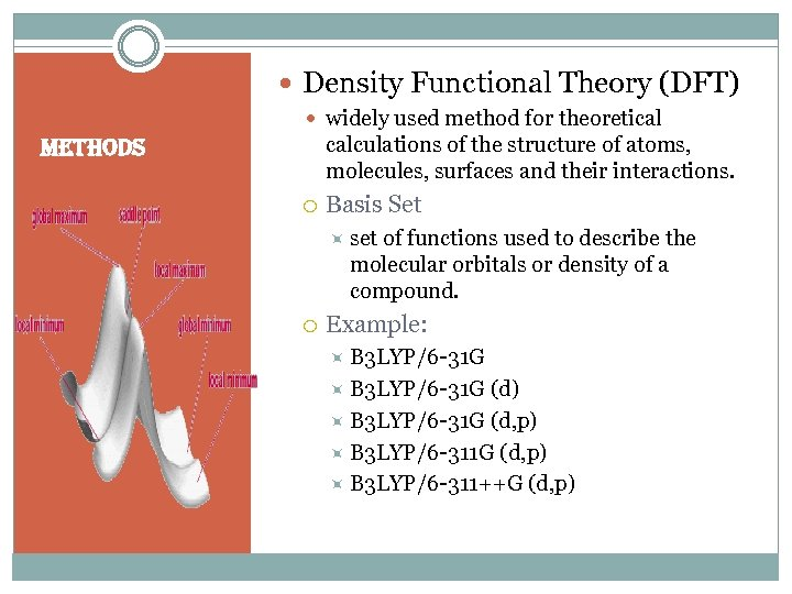 Density Functional Theory (DFT) widely used method for theoretical calculations of the structure