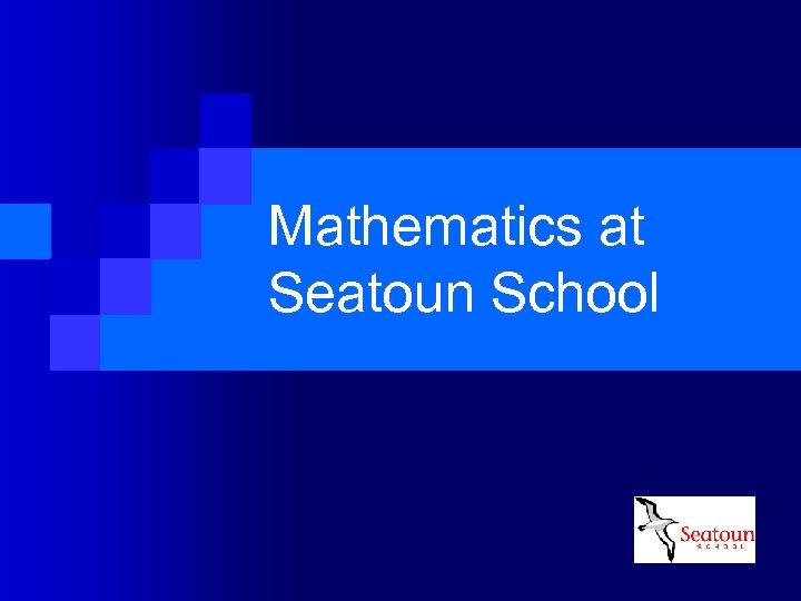 Mathematics at Seatoun School