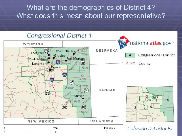 What are the demographics of District 4? What does this mean about our representative?