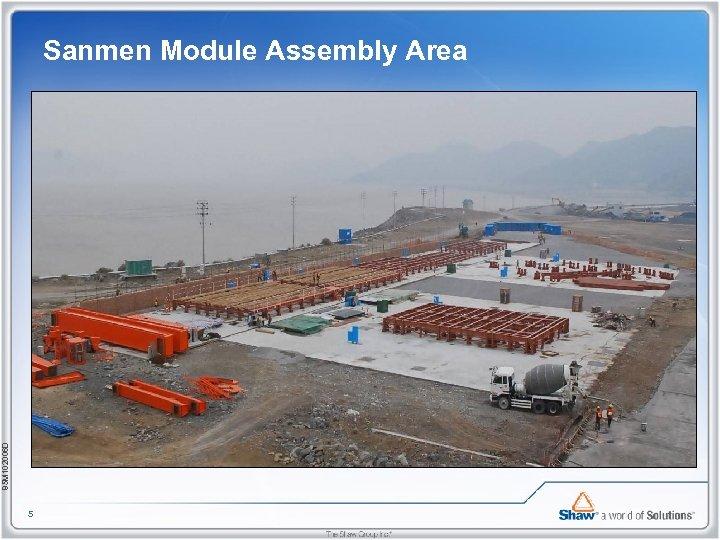 85 M 102006 D Sanmen Module Assembly Area 5