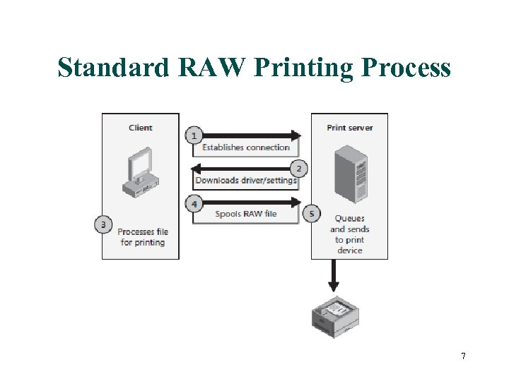 Standard RAW Printing Process 7