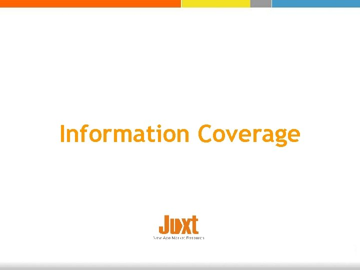 Information Coverage