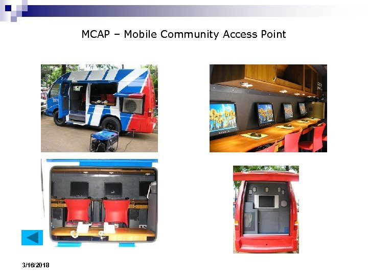 MCAP – Mobile Community Access Point 3/16/2018