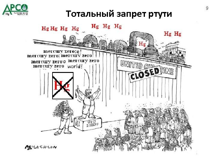 Тотальный запрет ртути 9