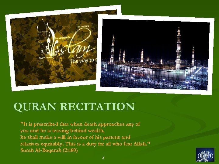 QURAN RECITATION