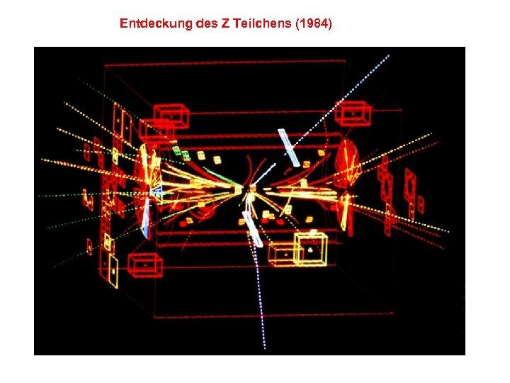 Entdeckung des Z Teilchens (1984)