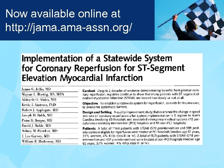 Now available online at http: //jama. ama-assn. org/